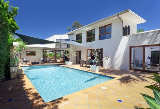 Marketing A Modern Home with Pool Professional Real Estate Photography